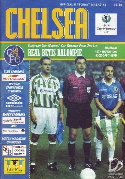 Chelsea-Betis programa oficial