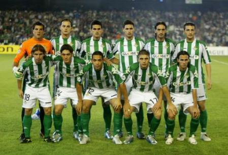 Alineación Betis-Chelsea 2005