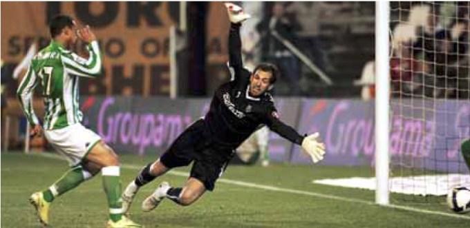 Betis-Villarreal Liga 2009