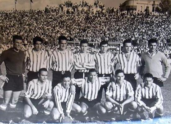 Dic-05 Alineación Jaén-Betis Liga 1955
