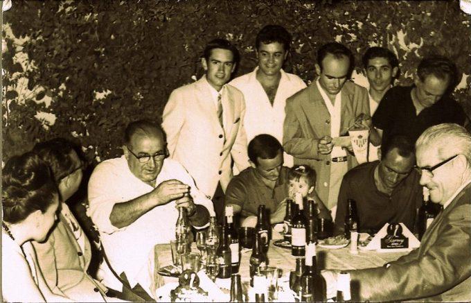 Inauguración Peña Bética de Osuna 1963-4