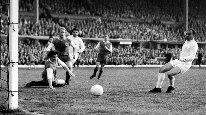 Real Madrid y Eintracht de Frankfurt en 1960