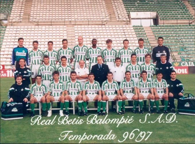 Enero-30 Betis Plantilla 1996-97