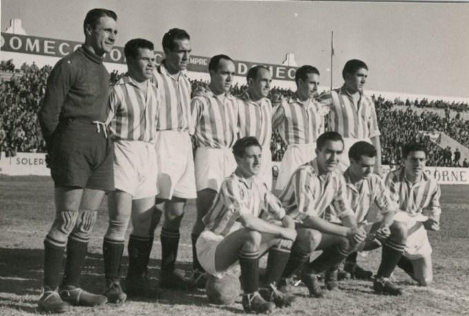 Alineación Betis-Oviedo Liga 1942 (NMP)