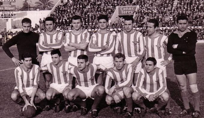 Alineación Betis-Sevilla Liga 1962