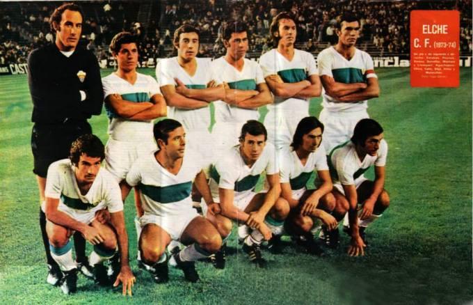 El Elche en la temporada 1973-74