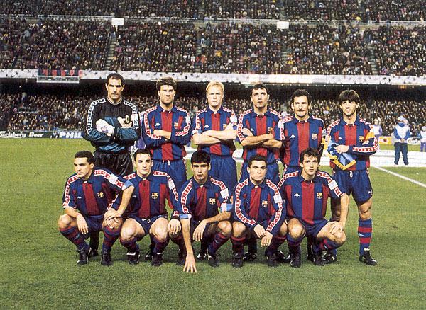 El FC Barcelona en 1993