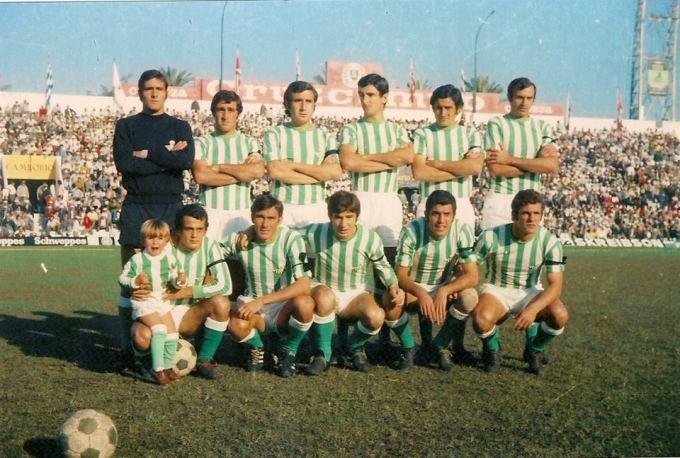 Marzo-11 Alineación Betis-Burgos Liga 1972