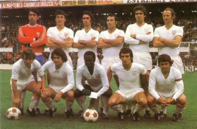 El Sevilla en la temporada 1975-76