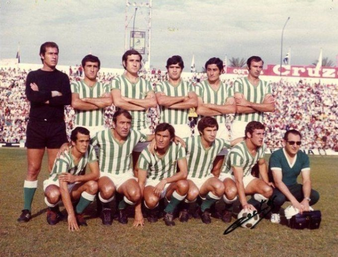 Mayo-29 Alineación Betis-Barcelona Liga 1972