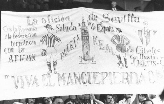 Afición Copa 1977 final