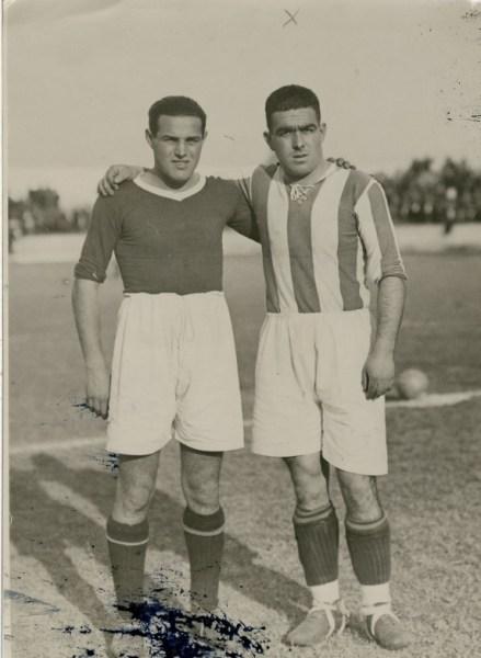 Betis-Donostia Liga 1933 Soladrero y Ayestarán (NMP)