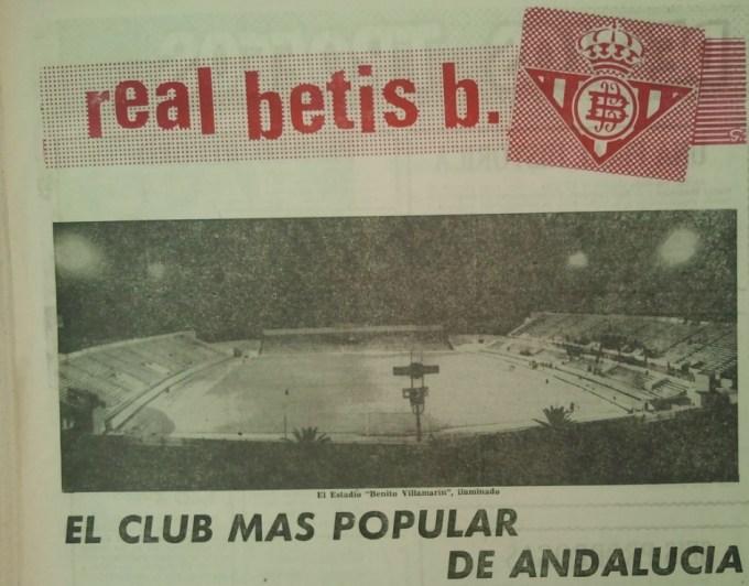 50 años del Carranza El club más popular de Andalucía (NMP) Diario de Cádiz 29-08-1964