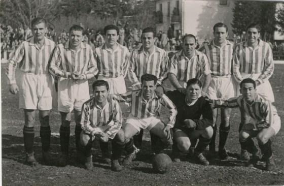 Alineación Osasuna-Betis Liga 1944 (NMP)
