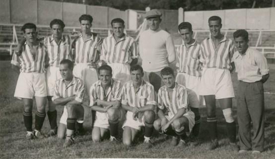Alineación Nacional-Betis Mancomunado 1933
