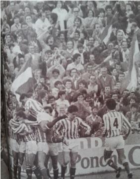 Betis-Madrid Liga 1984