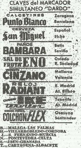 19620128-Claves Marcador Dardo