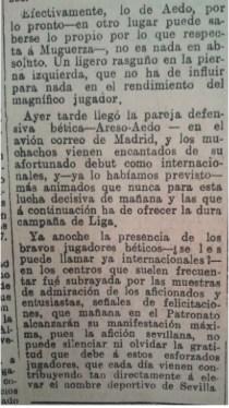 Fuente: El Liberal 27 de enero de 1935