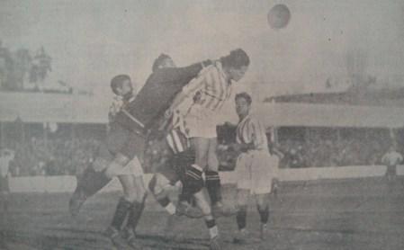 Hoy hace 85 años. La Liga que ganamos. Athletic Club de Madrid 4 Betis Balompié 2.