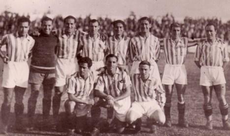 Hoy hace 85 años. La Liga que ganamos. Betis Balompié 1 Athletic Club 0.