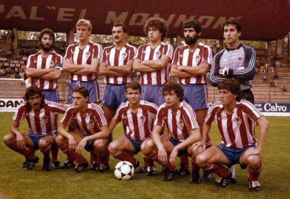 El Sporting en la temporada 1984-85