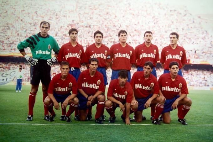 El Zaragoza en la temporada 1992-93