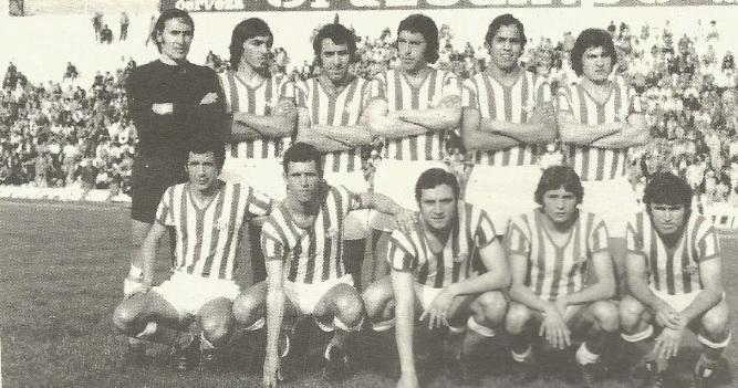 Alineación Betis-Córdoba Campeonato Andalucía Reservas 1976