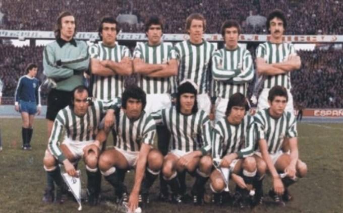 Alineación Dinamo Moscu-Betis Recopa 1978