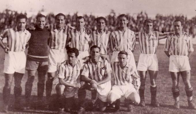 Alineación Betis-Athletic Liga 1935