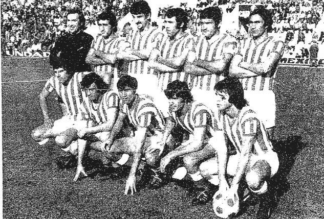 Alineación Betis-Baracaldo Liga 1974 (NMP)  ECA 12-02-1974