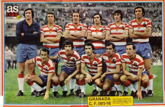 El Granada en la temporada 1973-74