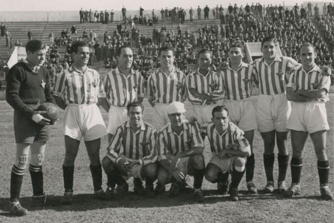 Alineación Betis-Murcia Liguilla 1942