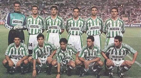 Alineación Betis-Zaragoza Liga 1995