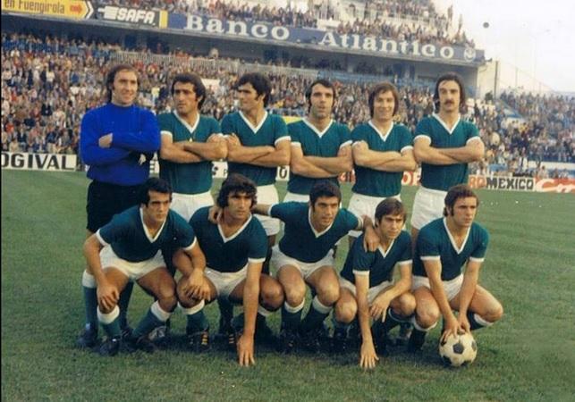 Alineación Málaga-Betis Liga 1974
