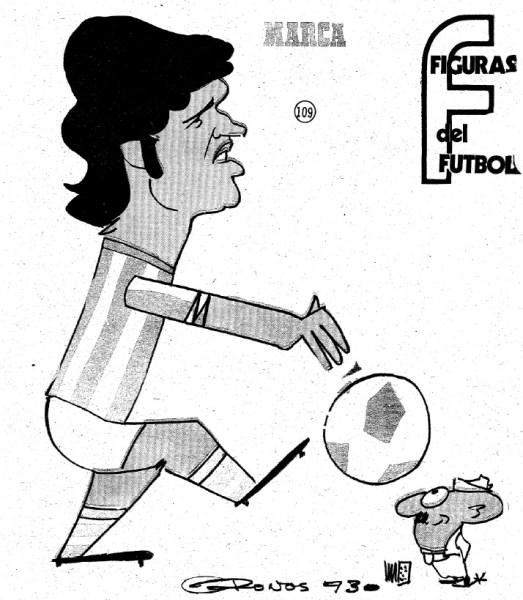 Figuras del Fútbol Rodolfo Orife