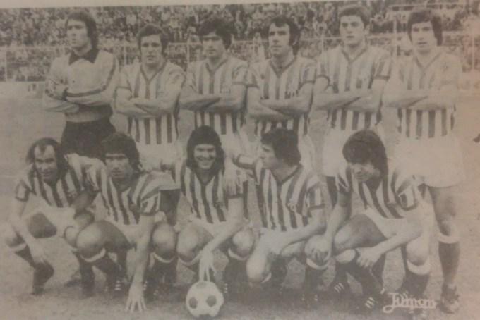 Alineación Cádiz-Betis Liga 1978