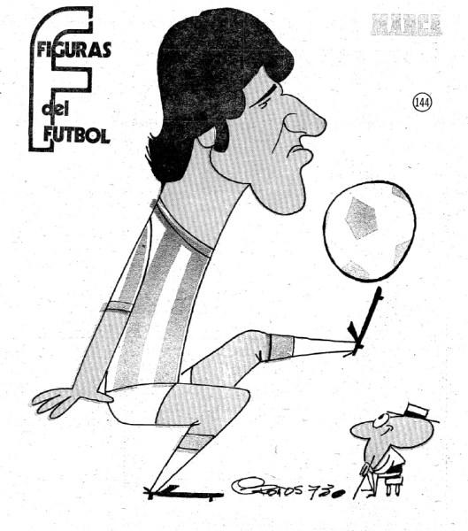 Figuras del Fútbol. Juan Carlos Mameli-imagen