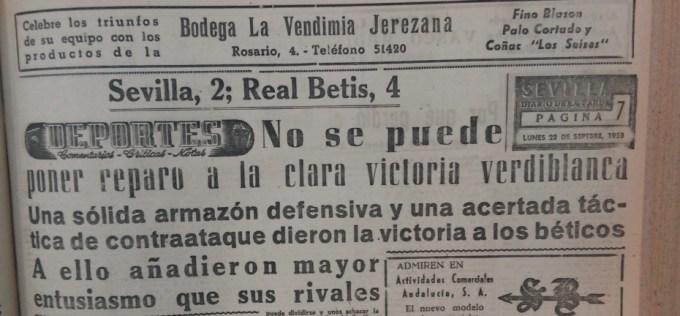 22 Sevilla-Betis crónica