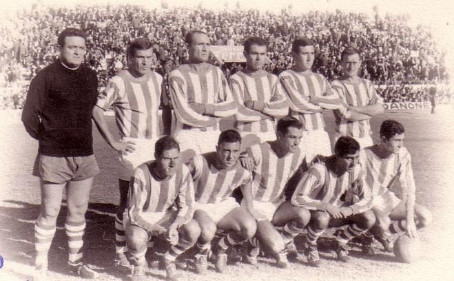 Alineación Betis´-Levante Liga 1966