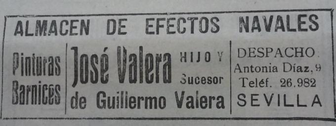 Anuncio de los años 30