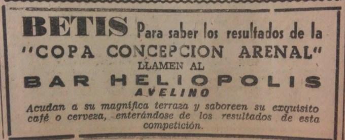 28 Anuncio del Avelino Trofeo Concepción Arenal