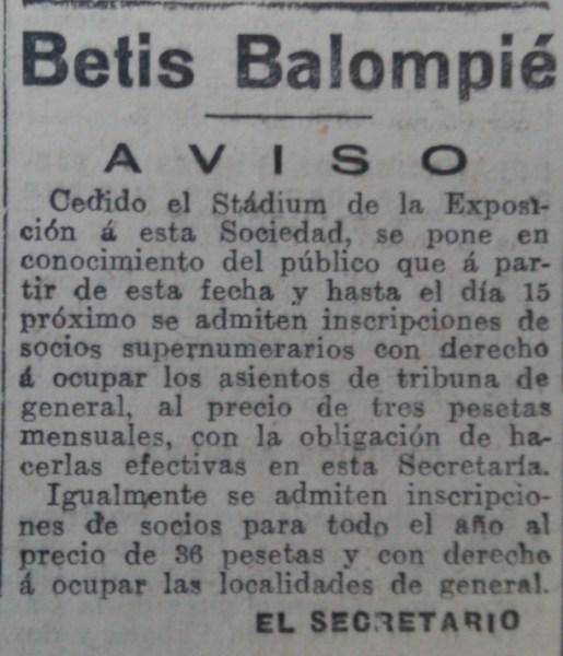 Fuente: El Liberal 2 de julio de 1936