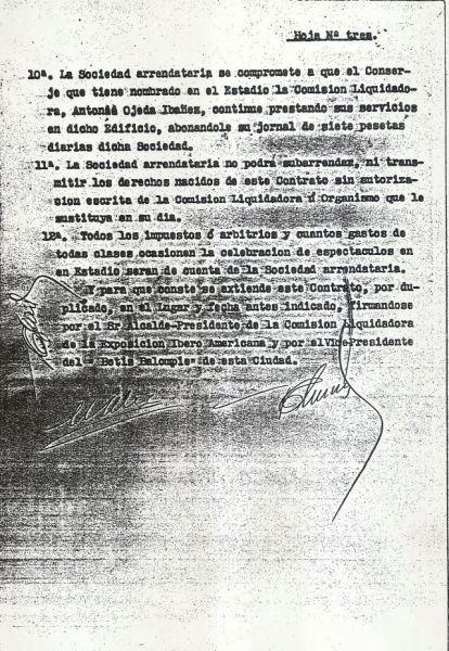 Contrato de arrendamiento Heliópolis-3 1936