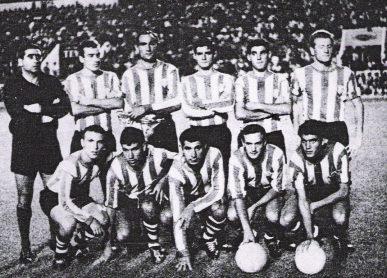 Hoy hace 55 años. Debut en Europa contra el Stade Français.