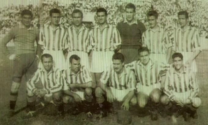 Alineación Betis-UD España Tánger Liga 1952