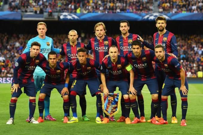 El FC Barcelona en 2015