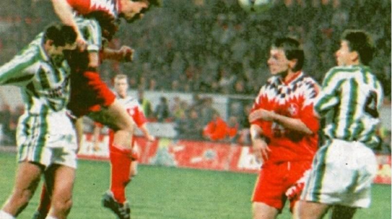 Hoy hace 25 años. Kaiserlautern 1 Betis 3 en Copa UEFA.
