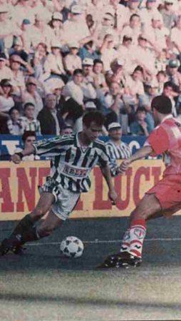 Hoy hace 25 años. Betis 5 Compostela 0.