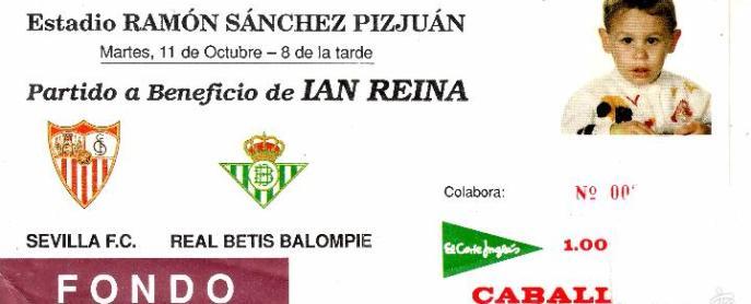 Hoy hace 25 años. Sevilla 1 Betis 2 en amistoso.