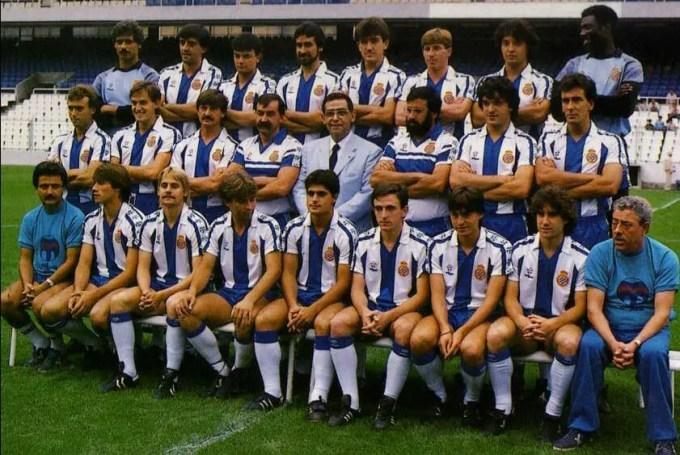 El RCD Espanyol en la temporada 1985-86